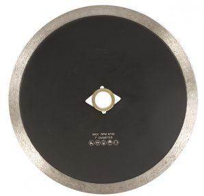 CONTINUOUS RIM DIAMOND BLADE PORCELAIN TILE