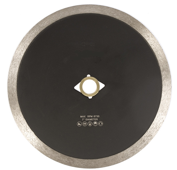 CONTINUOUS RIM DIAMOND BLADE PORCELAIN TILE