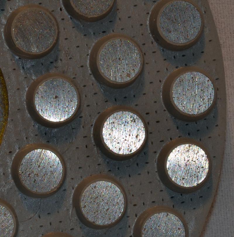 Metal Bond Diamond Dot Polishing Pads For Marble Granite Amp Stone 4