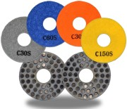 metal dot diamond pad mix