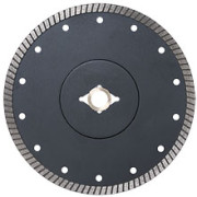 thin rim diamond blade flange