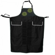 apron stone veclcro zipper pockets