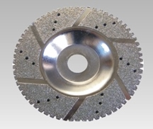 Electroplated Diamond Blade Marble Cyclone Terminator