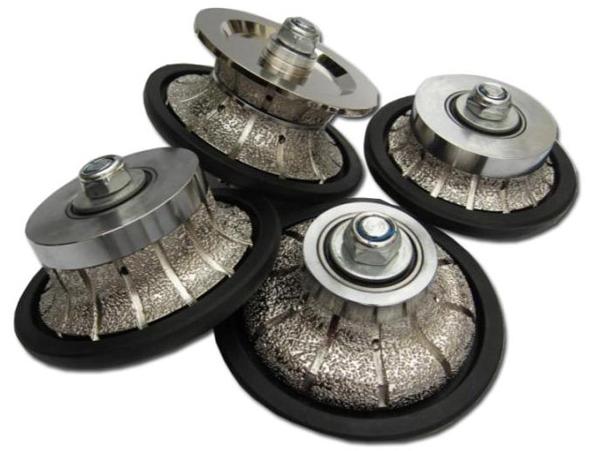 Vacuum Brazed Diamond Router Bits For Tile Marble Granite