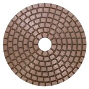 copper diamond polishing pad marble granite stone