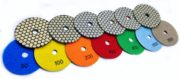 dry polishing pads marble granite stone