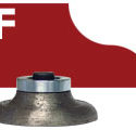 F OGEE DIAMOND ROUTER BIT GRANITE STONE