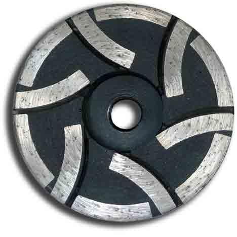 "4"" Resin Diamond Cup Wheel Medium Grit"