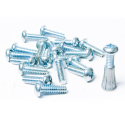 "Screws for Anchors, 1/2"" L x 1024, Qty (100)"